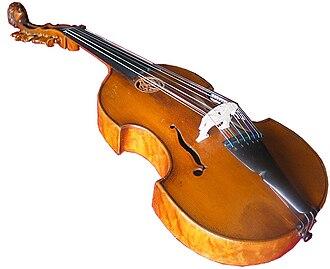 Viola d'amore - Image: Viola d'amore