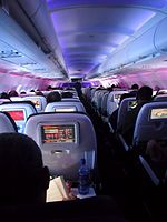 Virgin America airplane interior.jpg