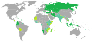 Azerbaijani nationality law - Visa requirements for Azerbaijani citizens