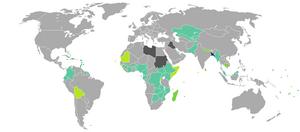 Bangladeshi nationality law - Visa requirements for Bangladeshi citizens