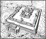 איור של בית המקדש השני