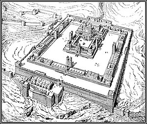 Book of Ezekiel - Image: Visionary Ezekiel Temple