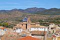 Vista de l'església de sant Miquel de Soneja des de l'ermita.JPG