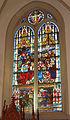 Vitrail transept Nord, église Saint-Nicolas de L'Hôpital.jpg