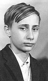 Putin adolescente