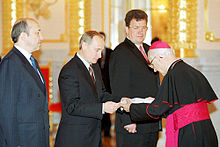Vladimir Putin with Georg Zur.jpg