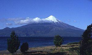 Osorno (volcano) - Osorno in 1993