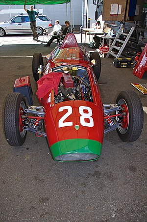 Arzani-Volpini - Volpini racecar from 1958