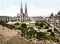 Votivkirche Maximilianplatz Wien 1900.jpg
