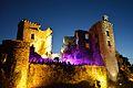 Vue de nuit du Chateau de Saint Martin Laguépie.jpg