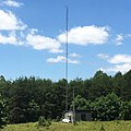 WGTJ Antenna Tower and Transmitter located in Murrayville, Georgia USA.jpg