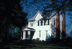 National Register of Historic Places listings in Halifax County, North Carolina - Image: WILLIAM R. DAVIE HOUSE