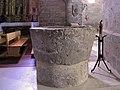 WLM14ES - La pila bautismal de inmersion * Iglesia Romanica (Trigueros del Valle - Valladolid) - jacilluch.jpg