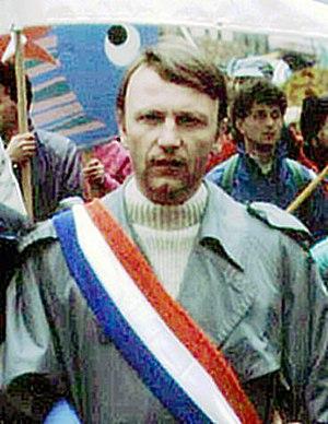 Antoine Waechter - Antoine Waechter in September 1989