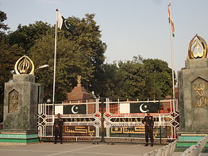 Pakistan Rangers - Pakistani Rangers- Punjab at the Wagah Border