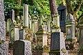 Waibstadt - Jüdischer Friedhof - neuer Teil - typische Teilansicht 1.jpg