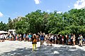 Waiting line before the Acropolis in Athens (30996506208).jpg