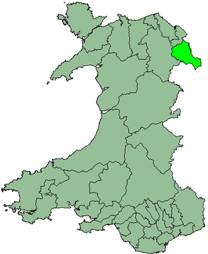 Wrexham Maelor - Image: Wales Wrexham Maelor 1974