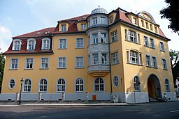 Wallstraße in Freiberg