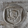 Wangen Martinskirche Familienmonument Praßberg Grabplatte Ahnenprobe 1.jpg