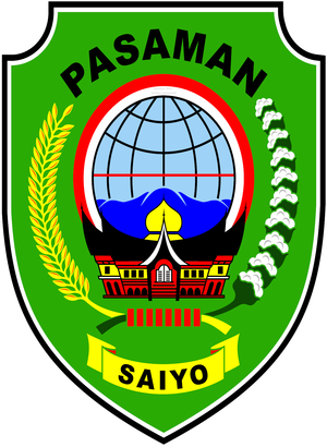 Pasaman Regency - Image: Wapen Pasaman