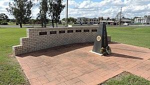 Wandoan - War memorial, Wandoan, 2014