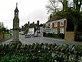 War memorial and sign post, Burwash - geograph.org.uk - 798173.jpg