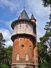 Waren Müritz Wasserturm water tower.JPG