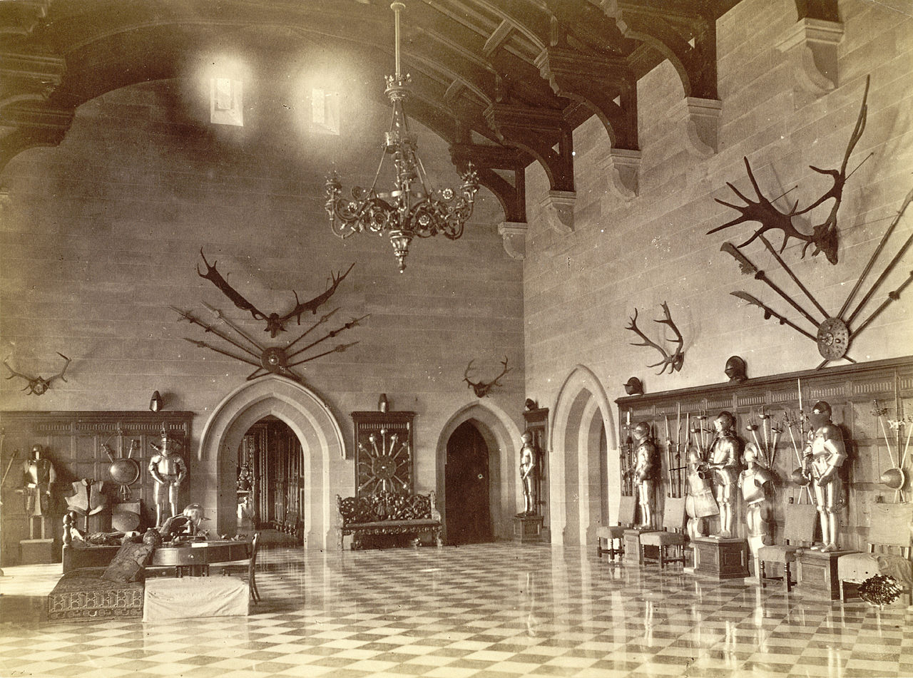 File Warwick Castle S Great Hall Late 19th Century Jpg