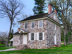 A sede da George Washington em Valley Forge