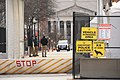 Washington DC Lockdown 05 - Checkpoint Canine at Work Sign (50851456492).jpg