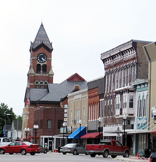 Washington, Iowa City in Iowa, United States