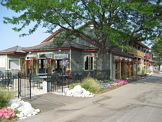 Hughson Street (Hamilton, Ontario) - Pier 8, Hamilton Waterfront Trail, Restaurant