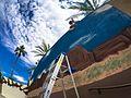 We were here, Marine Week Phoenix mural goes up in Scottsdale 150907-M-XK427-024.jpg