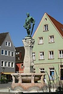 Weißenburg - Kaiser-Ludwig-Brunnen 1.jpg
