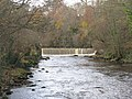 Weir on the River Almond near Cramond - geograph.org.uk - 1047423.jpg