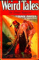 Weird Tales cover image for January 1929