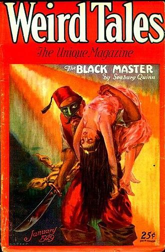 Jules de Grandin - Image: Weird Tales January 1929