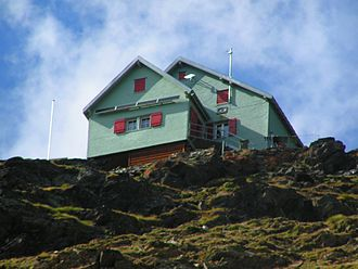 Weisshorn Hut - The Weisshorn Hut