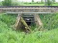 Weitenhagen Durchlass-Bahnschienen May-2009 SL272638.JPG