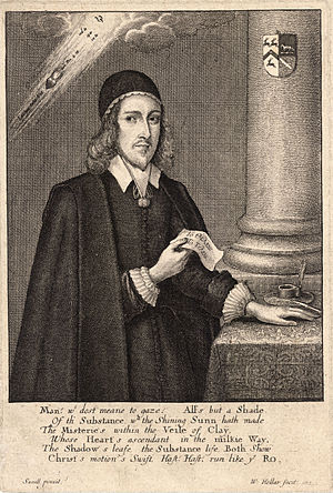 John Rogers (Fifth Monarchist) - John Rogers in an engraving by Wenceslas Hollar.