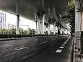 Wenshui Road on west side of Wenshui Road Station.jpg