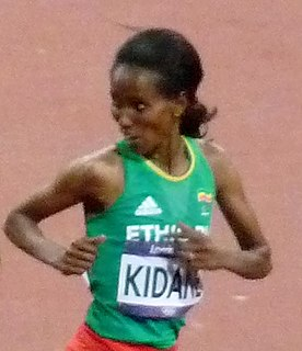 Werknesh Kidane Ethiopian long-distance runner