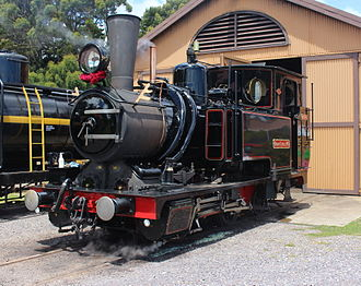 Carl Roman Abt - Mount Lyell Mining and Railway Company No. 3, an Abt type locomotive