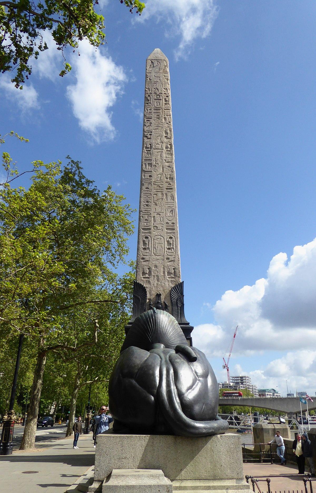 Cleopatra S Needle London Wikipedia