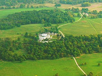 White Lodge, Richmond Park - White Lodge from the air in 2009