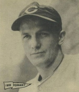 Whitey Moore - Image: Whitey Moore 1940 Play Ball card