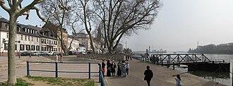 Biebrich (Wiesbaden) - The Rhine at Biebrich