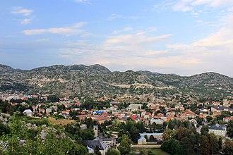 Cetinje - Cetinje in August 2009