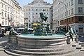 Wien Donnerbrunnen neuer Markt.JPG